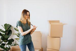 Packing your items for long-term storage requires boxes