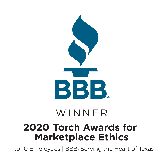 Better Business Bureau Torch Award Recipient