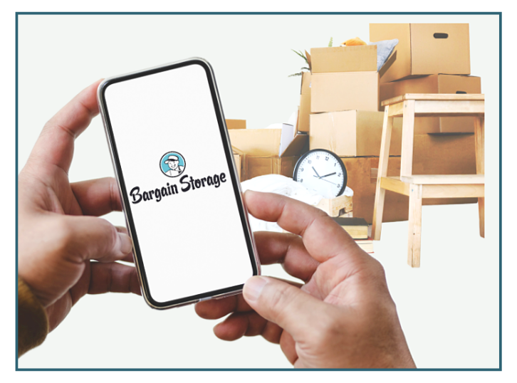 Bargain Storage recommends that you use a smart phone app to inventory your belongings