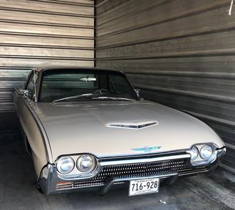 Classic Car Stored in a Self Storage Unit