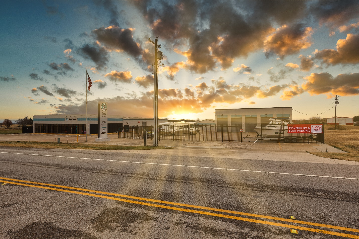Wylie Bargain Self Storage Units and RV / Boat Parking Spaces