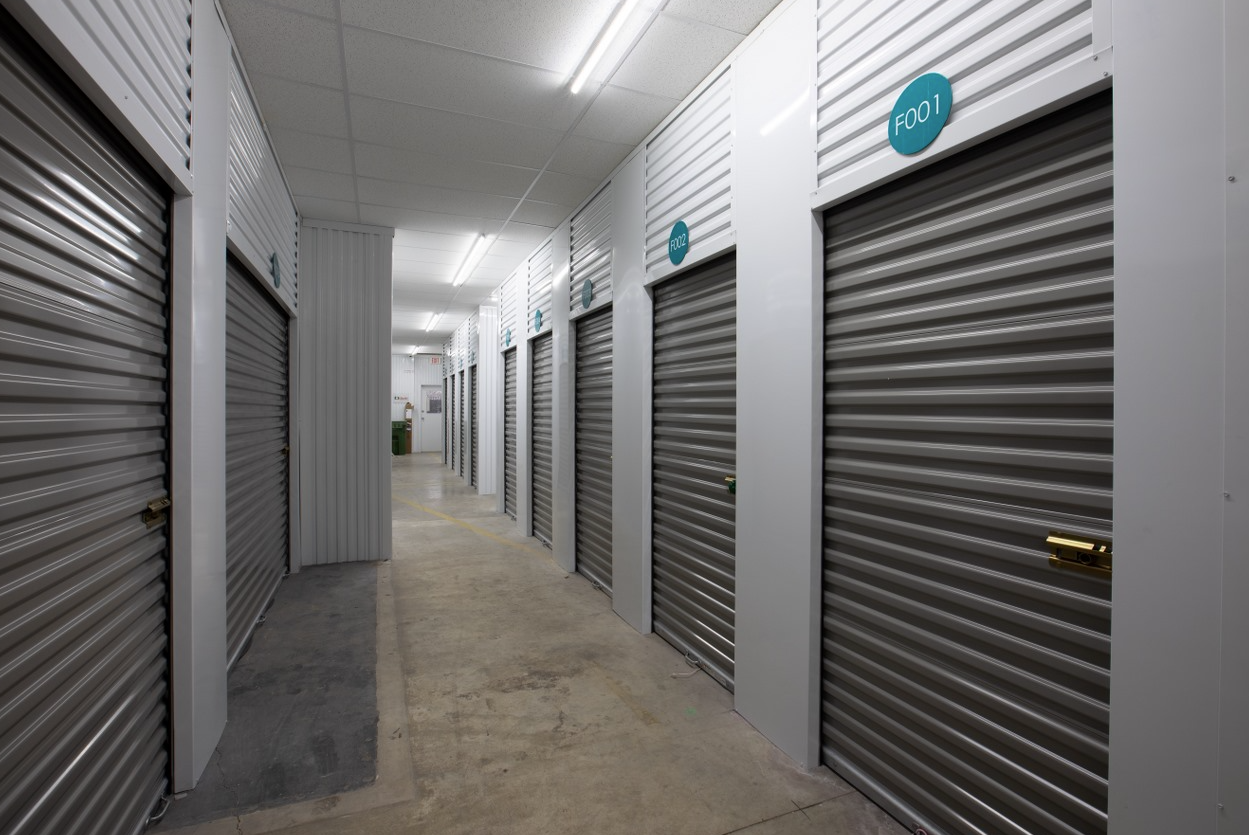 New Clean and Secure Modern Climate Controlled Self Storage Units After Picture