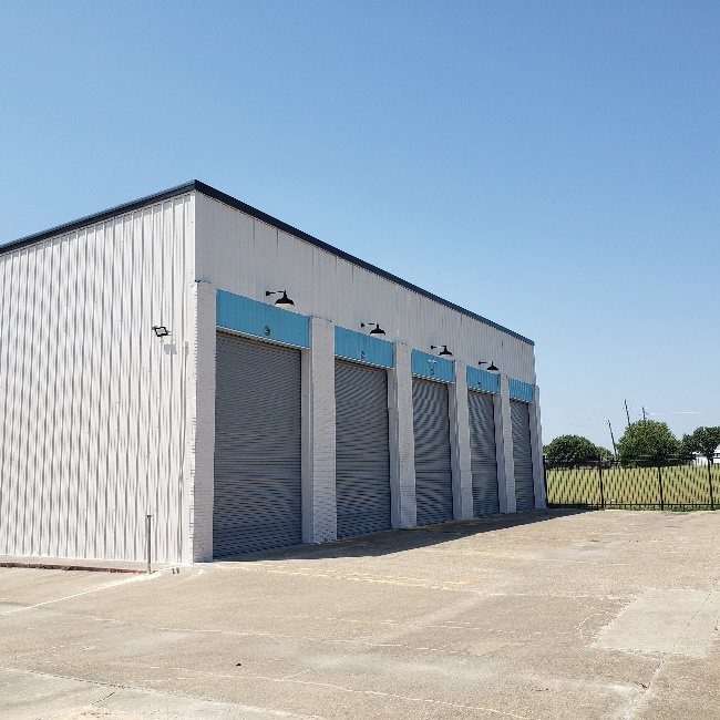 Premium Enclosed RV and Boat Storage at Wylie Bargain after Being Fully Renovated