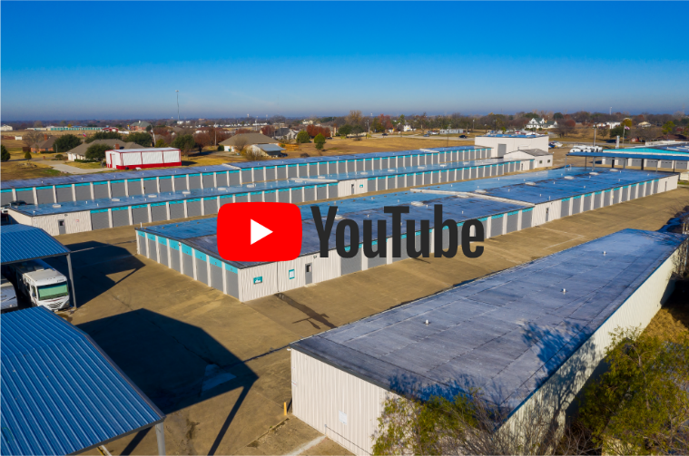 Drone Video of the Entire Wylie Bargain Storage Facility in Wylie Texas