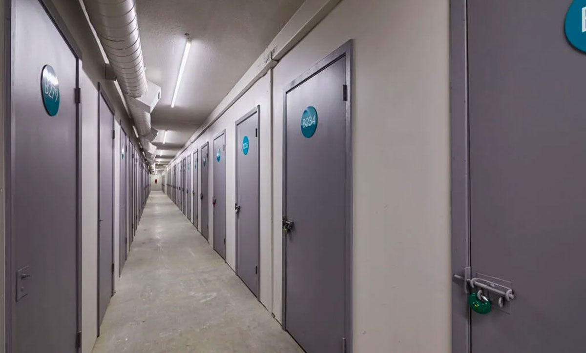 Indoor Climate Controlled Self Storage Inside Units