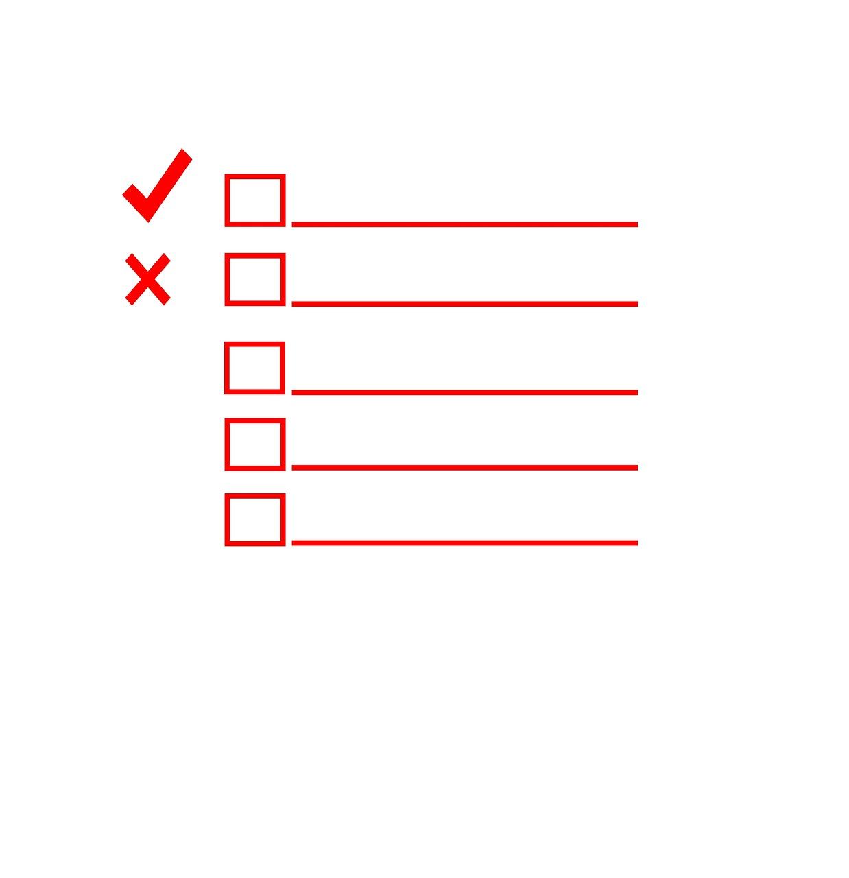 Create a Self Storage Inventory Check List