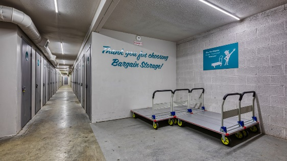 Thank you for choosing Bargain Storage for your long term self storage unit needs
