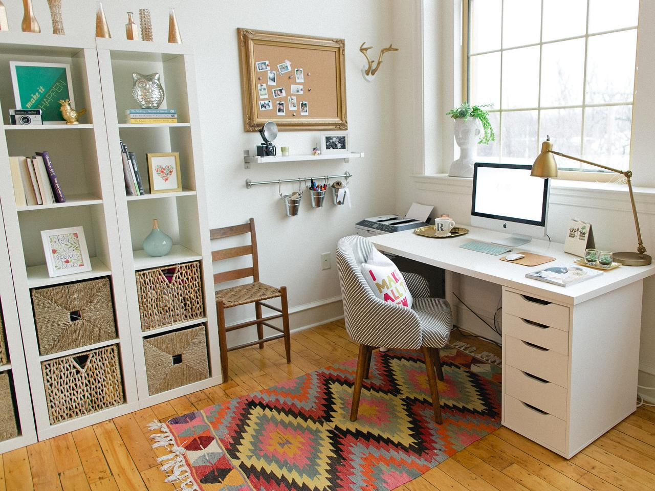 Outfit a Spare Bedroom with Your Home Office Setup