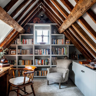 Design a Home Office in Your Attic