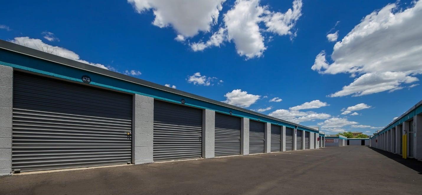 Self Storage Drive Up Units at Bargain Storage