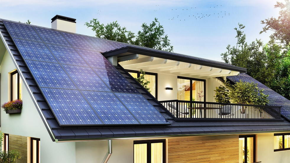 Solar Panels for an Eco Friendly House Design