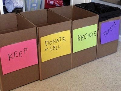 Create Your Sorting Categories and use them to Declutter