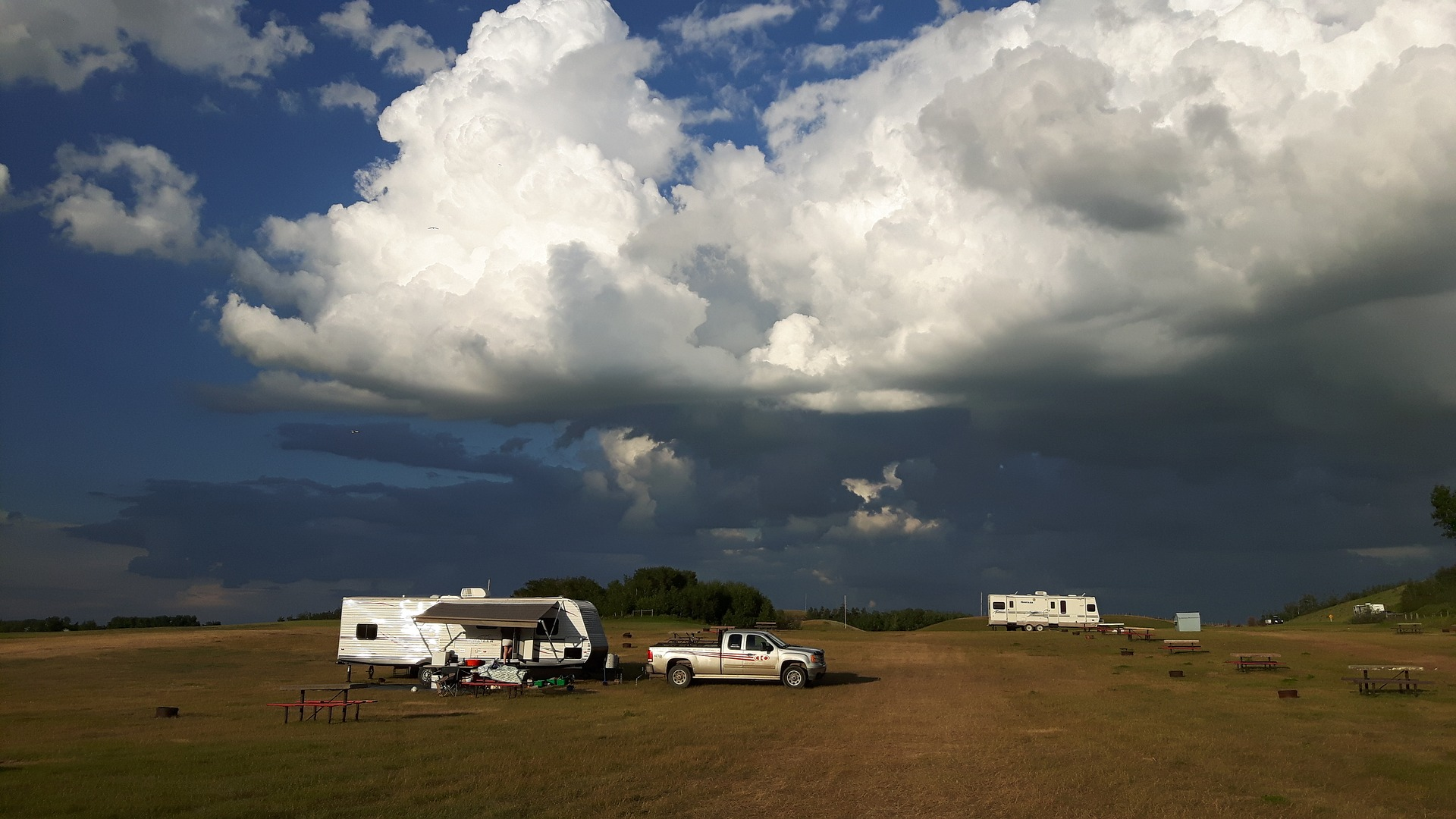 RV Camping in Inclement Weather