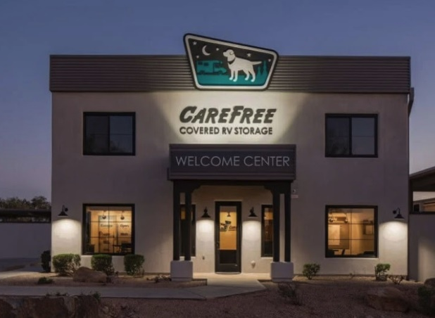 Welcome Home to Carefree Covered RV Storage