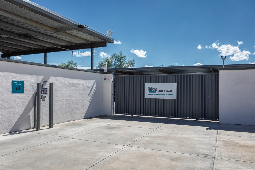 Security is Job One for Self Storage Facilities at Carefree Covered RV Storage