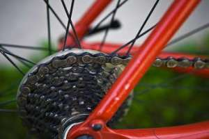 Bicycle Gears Close Up Photo