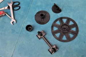 Padding the disc brakes of your bike help with protection during a move