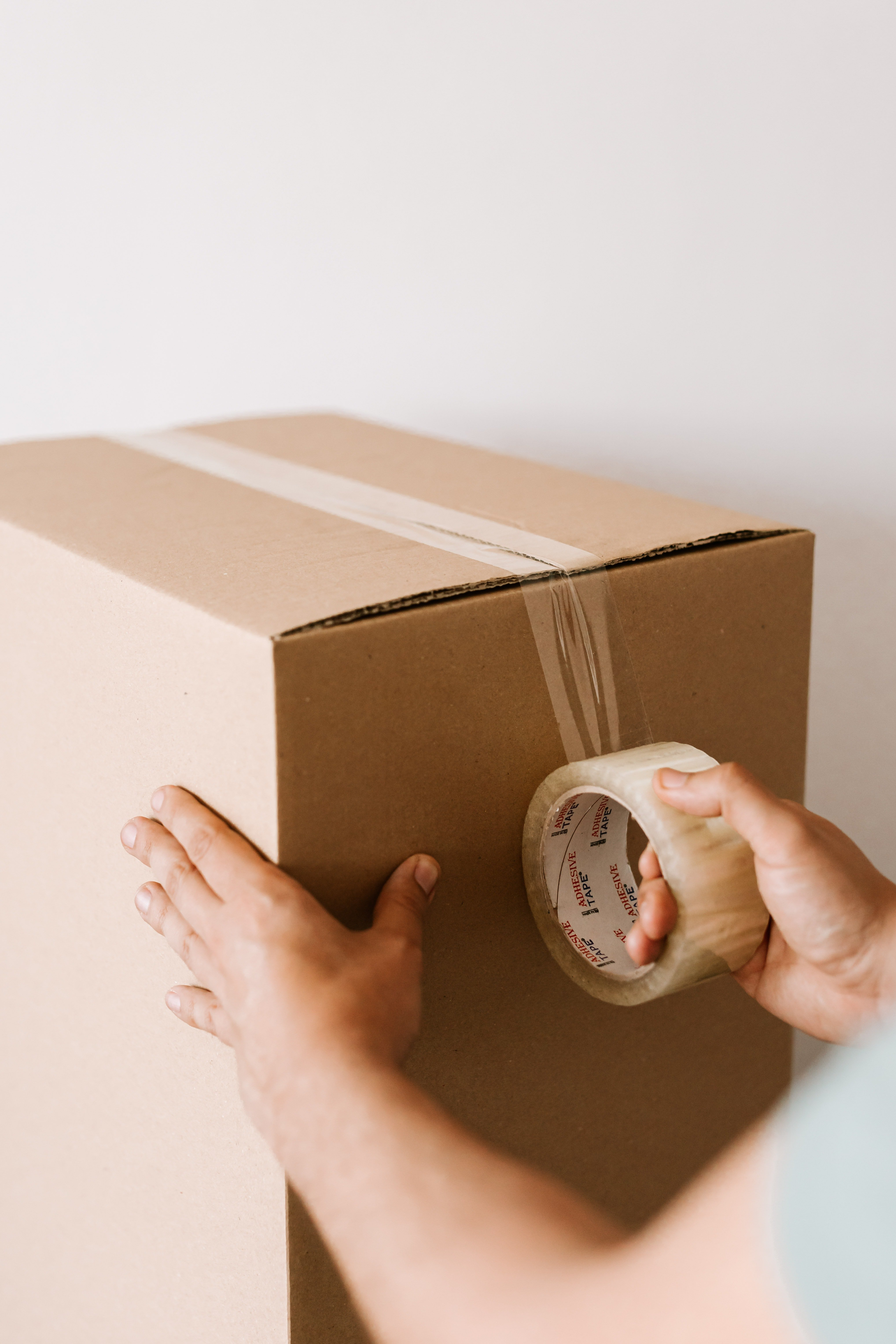 Boxing Up Your Items for Self Storage