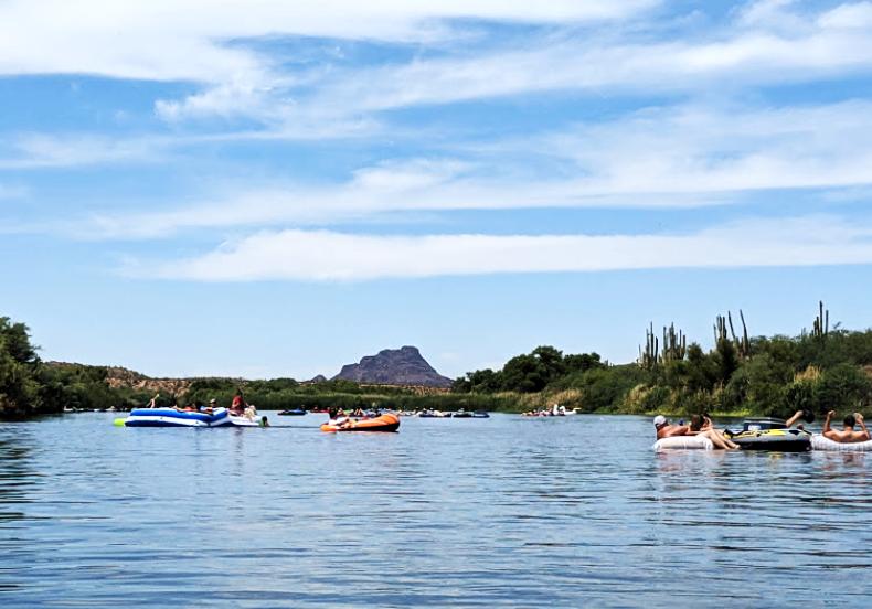 Salt River Tubing Arizona