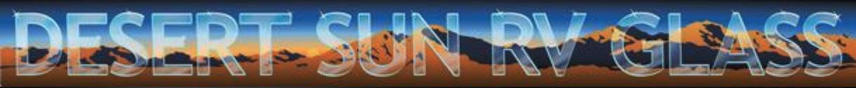 Desert Sun RV Glass Logo
