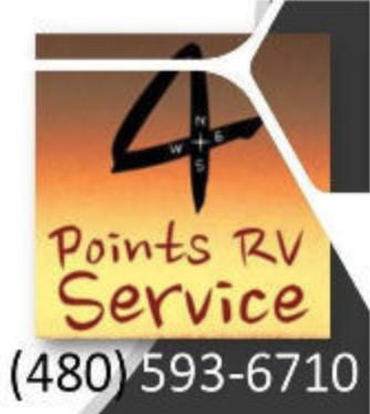 4 Points Mobile RV Service Logo