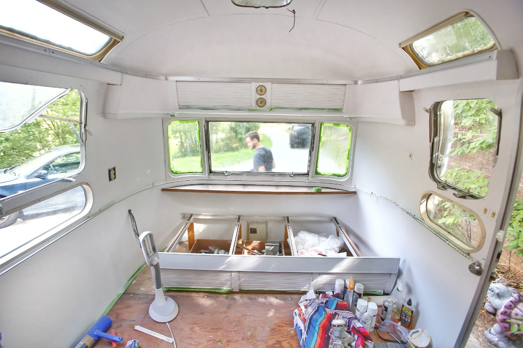 Painting an RV can have a Huge Impact