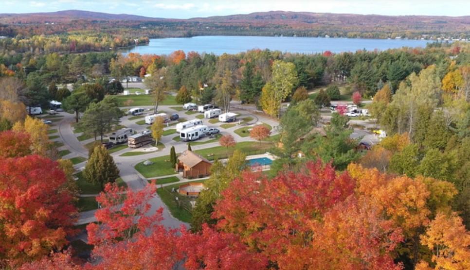 RV Camping in Petoskey Michigan