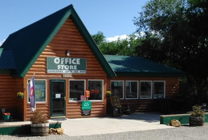 Office Store at RV Camping Facility