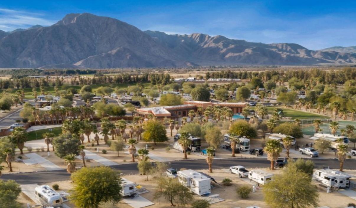 The Springs at Borrego RV Resort in California
