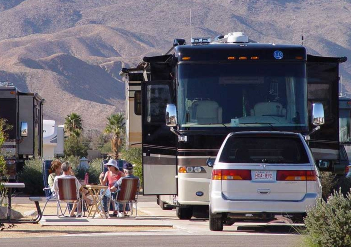 RV Camping Borrego California