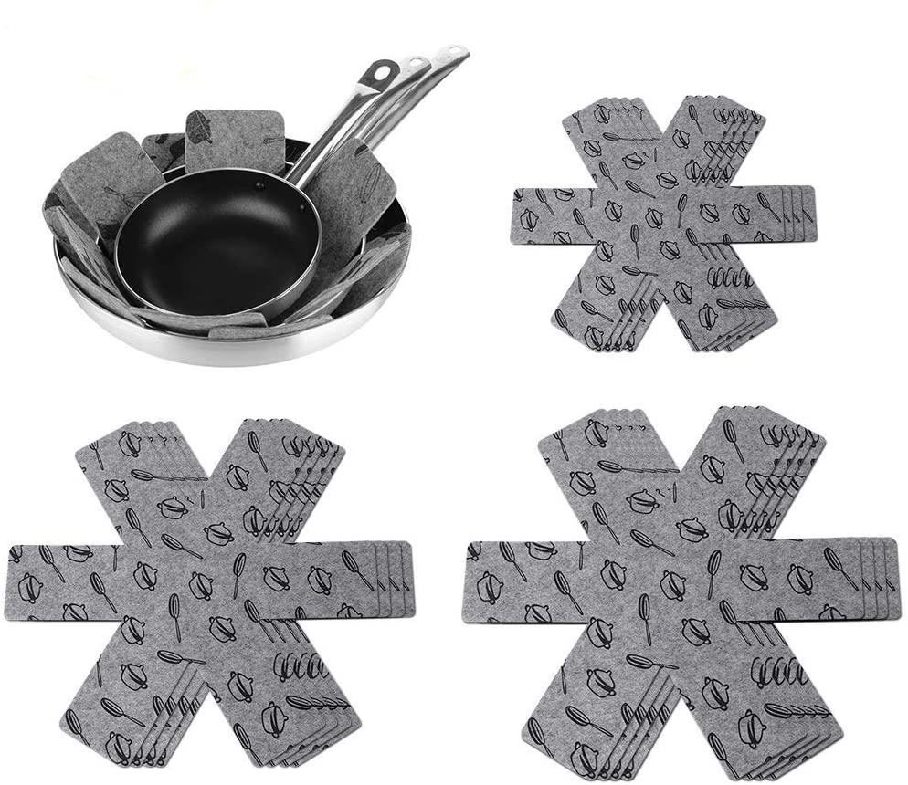 Cookware Pan Divider Protector Pads and Mats