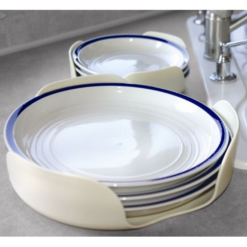 Stackable plate holder options for simple storage