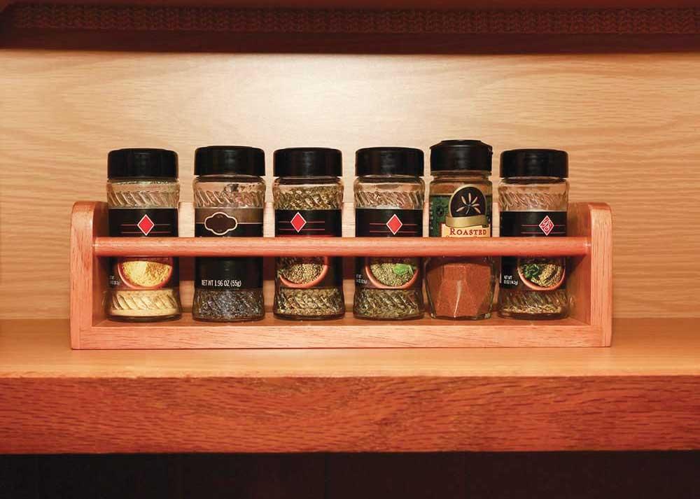 RV Spice Rack Storage Ideas