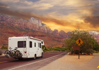 Driving Your RV on Different and Unfamiliar Terrain