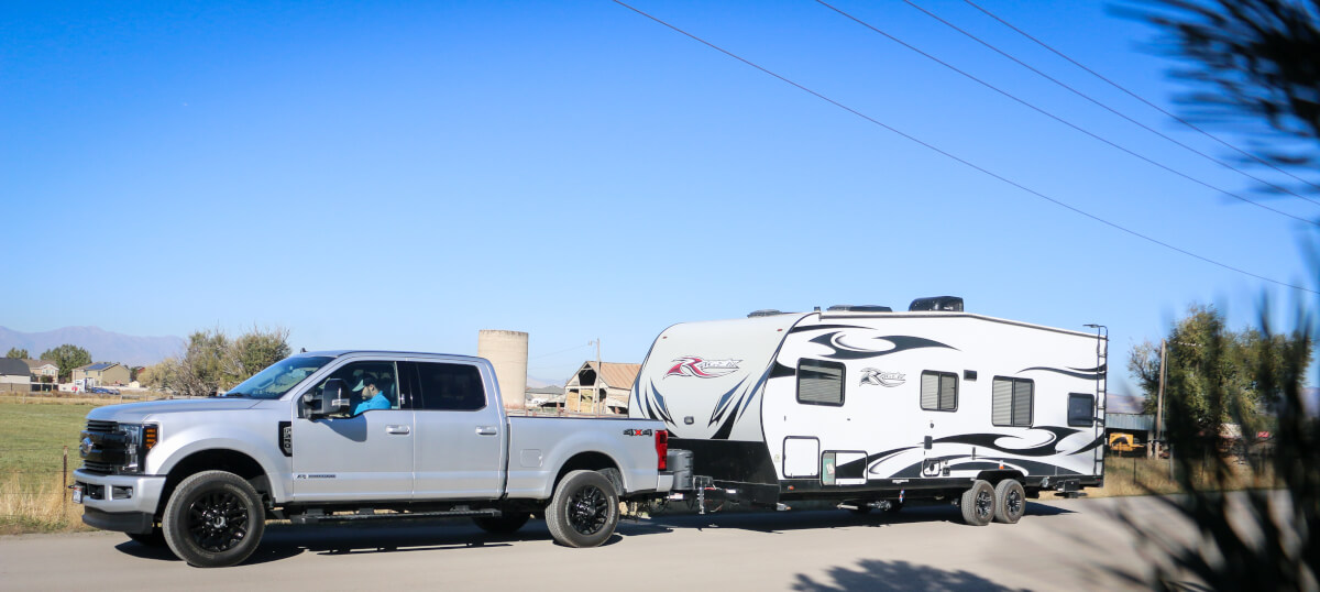 Towing a Travel Trailer
