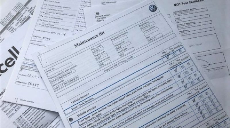 Review the Maintenance Records the Previous Owner has Kept on the RV