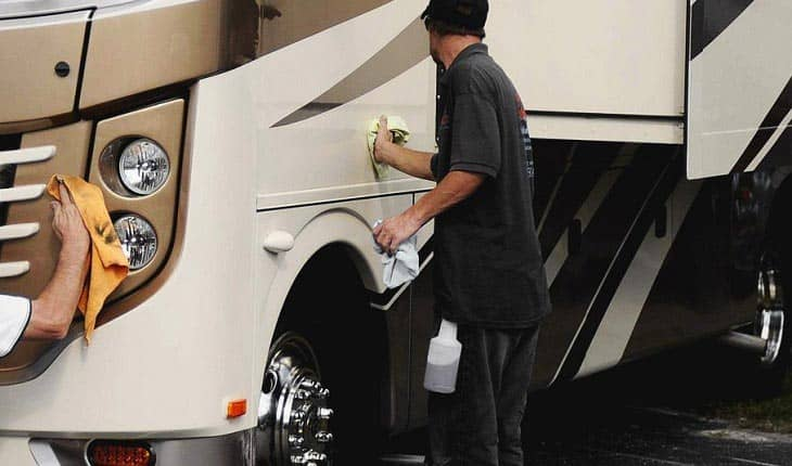 The Best RV Wash and Wax Products can keep Older RVs Looking Like New