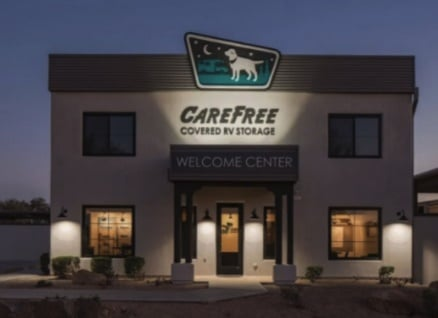 Protect your RV, Trailer or Boat with Carefree Covered RV Storage