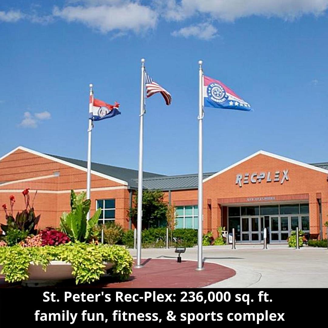 St. Peter's Rec-Plex in St. Peters Missouri