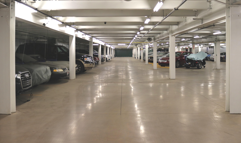 indoor car storage at STORExpress McKees Rocks