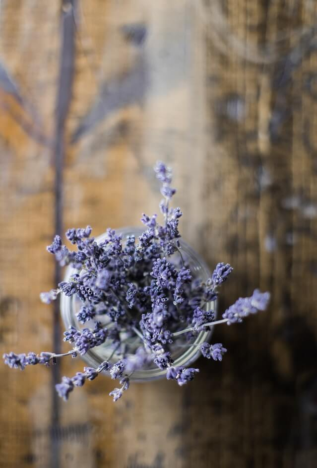 dried lavender for clothes storage