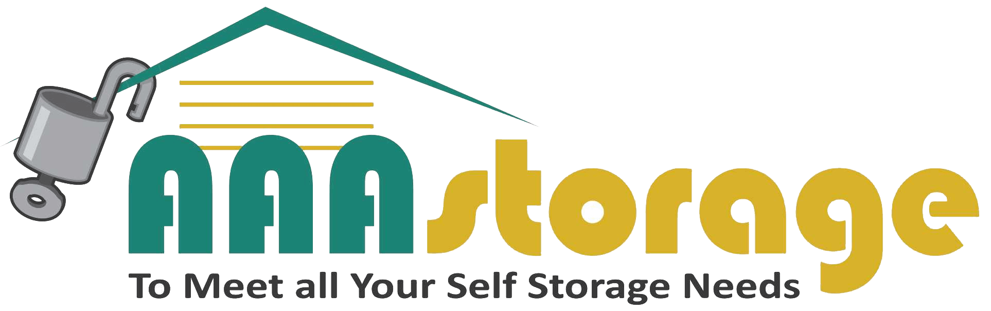 Logo for AAA Storage, click to go home