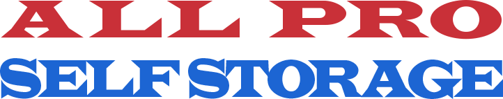 Logo for All Pro Self Storage, click to go home
