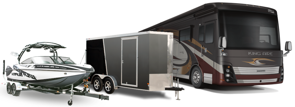 vehicle storage for RVs, boats, jet skis, and more
