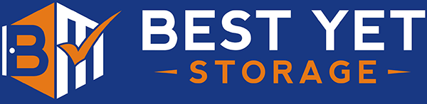 Logo for Best Yet Storage, click to go home
