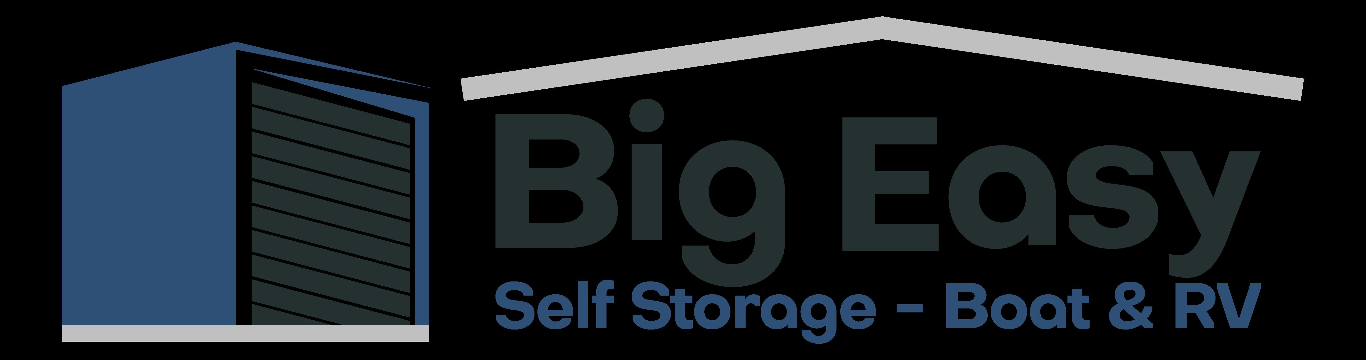 Logo for Big Easy Storage, click to go home