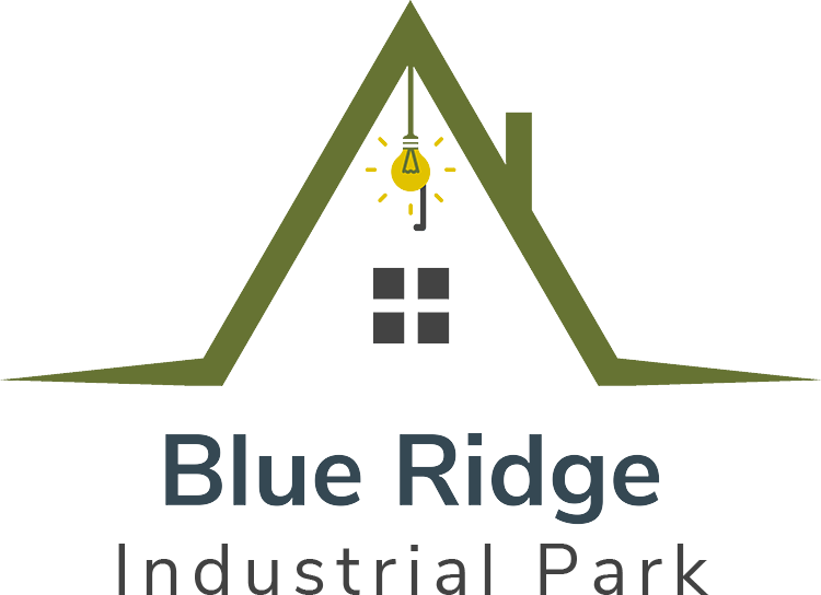 Logo for Blue Ridge Industrial Park, click to go home