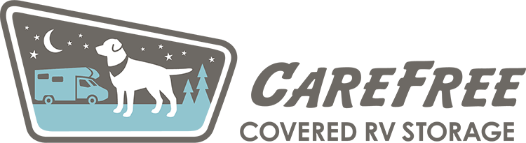 Logo for Carefree Covered RV Storage, click to go home