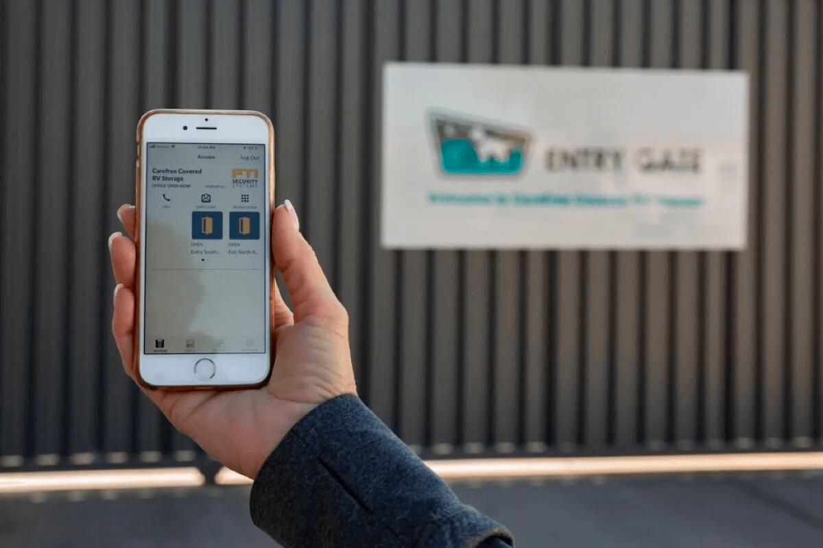 Gate Phone App