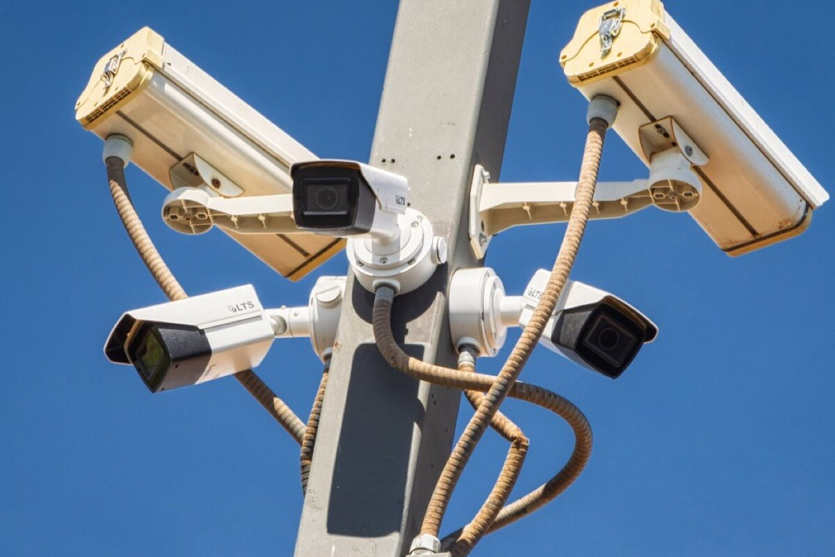 42 High-Definition Cameras